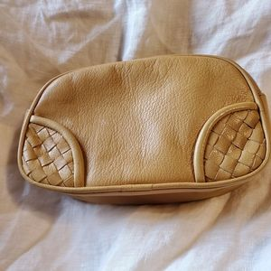 Bottega Veneta Double zip Clutch Cosmetic Bag